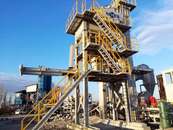 YLB800 mobile asphalt plant