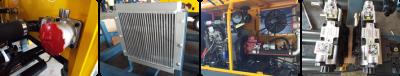 diesel mini concrete pump component