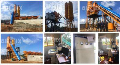 AIMIX concrete batch plant in Sri Lanka